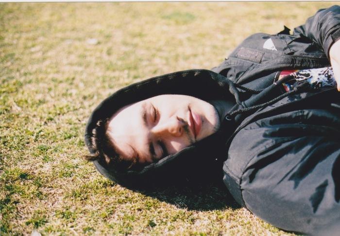 pat on grass