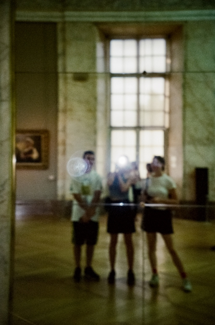 photo in louvre